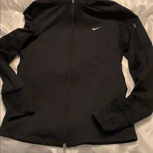 Nike dry fit zip up jacket